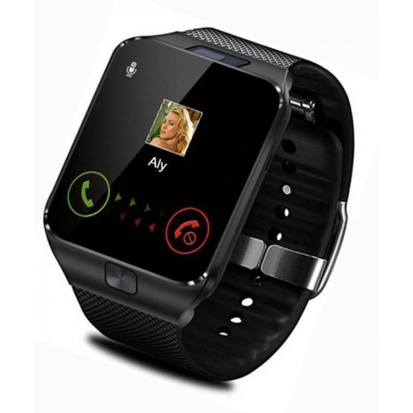 ALONZO Dz09 New phone Black Smartwatch  (Black)