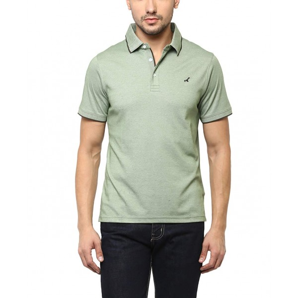 AMERICAN CREW Men's Cotton Blend Polo T-Shirts ( CM Pista )
