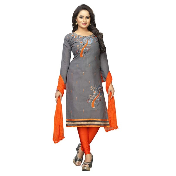 Alazra Creation Women's Unstitched Salwar Suit Dress Materials