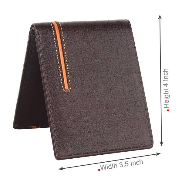 Amicraft Brown Leather Wallet for Men