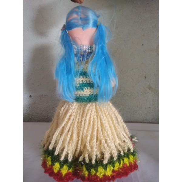 Aarya Collection Latur Designed Doll with Woolen Handmade