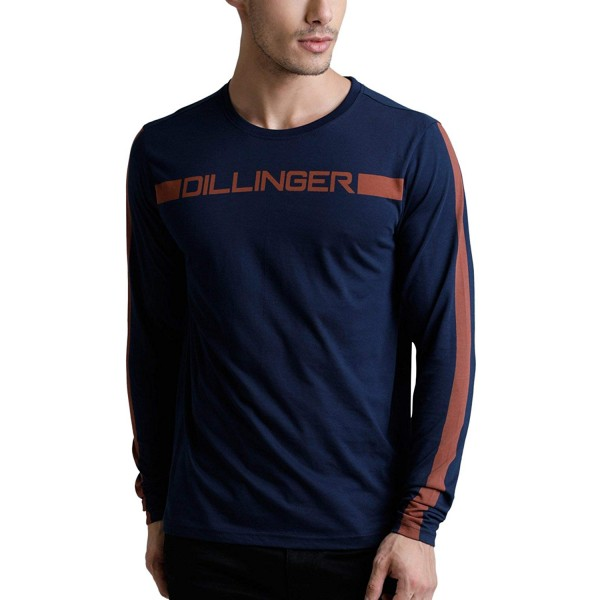 Dillinger Men's Full Sleeve Printed T-Shirt