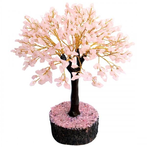 Divine Magic Home Decorative - Romantic RoseTree(500 Beads Height: 12.5 Inch)