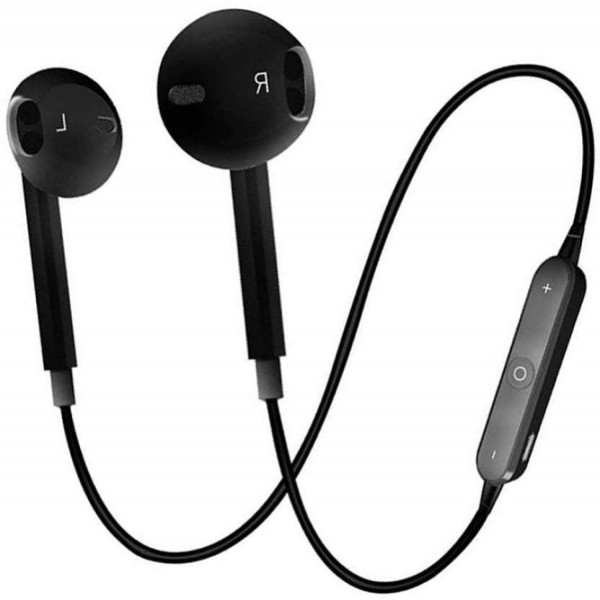 Drumstone Wireless S6 Bluetooth Headset with Mic Headset for redmi Note 5 pro