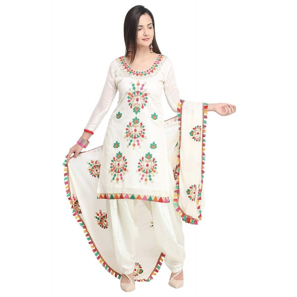 Ethnic Junction Women's Cotton Dress Material