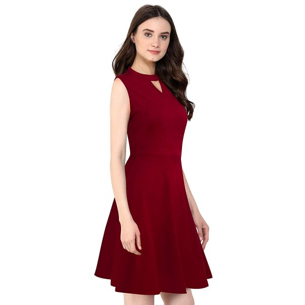 FEEL CLOSE Knee Length one Piece Dress for Ladies and Girls