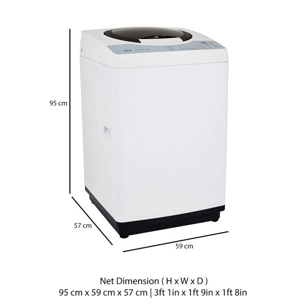 IFB 6.5 kg Fully-Automatic Top Loading Washing Machine (Color White)
