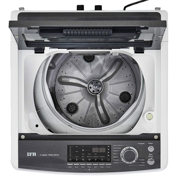 IFB 7.5 kg Fully-Automatic Top Loading Washing Machine ( Color White)