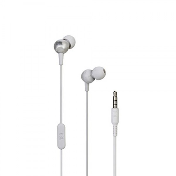 JBL C200SI in-Ear Headphones with Mic (Ice Grey)