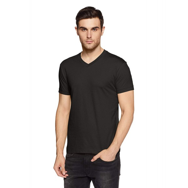 Jockey Men's Cotton T-Shirt( CM black )