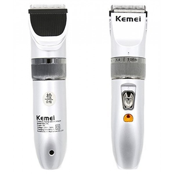 Kemei KM-27C Rechargeable Hair Trimmer for Men and Women