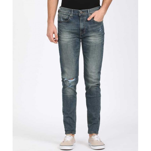 Levi's Super Skinny Men Blue Jeans For Men's