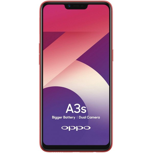 OPPO A3s (Red, 3GB RAM, 32GB Storage)