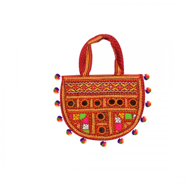 Oxytrends Traditional Ethnic Embroidery Work Bag