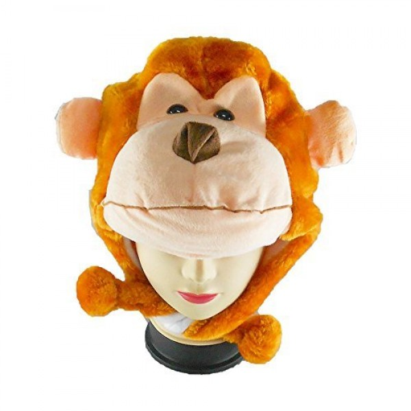 Oxytrends Winter Monkey Hat for Boys and Girls