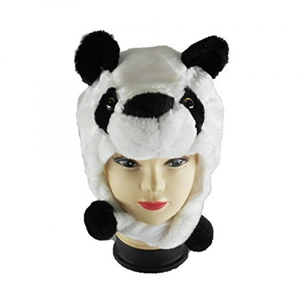 Oxytrends Winter Panda Hat for Boys and Girls