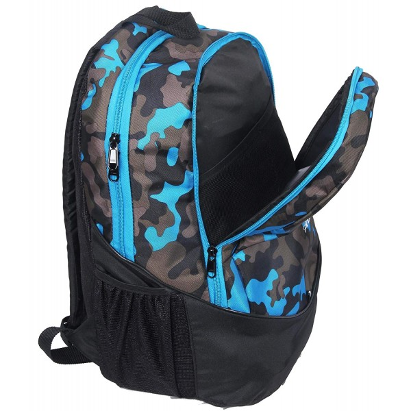 "POLE STAR ""RANGER"" 31 Ltrs Camo Blue Casual Backpack"