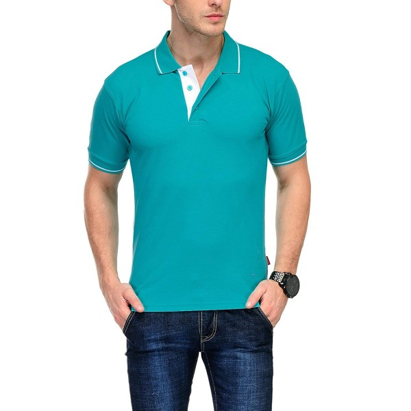 Scott International Men's Cotton Polo T-Shirt