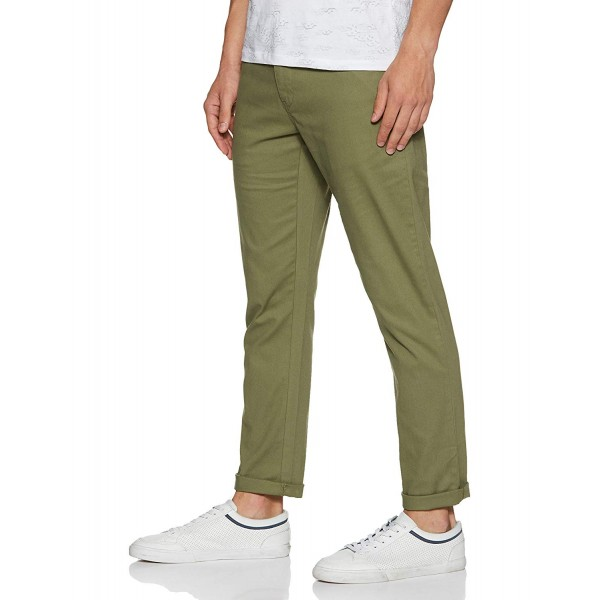 Symbol Men's Stretchable Casual Trousers