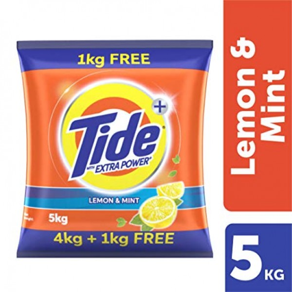 Tide Plus Extra Power Talcum Freshness Detergent Powder 5 kg