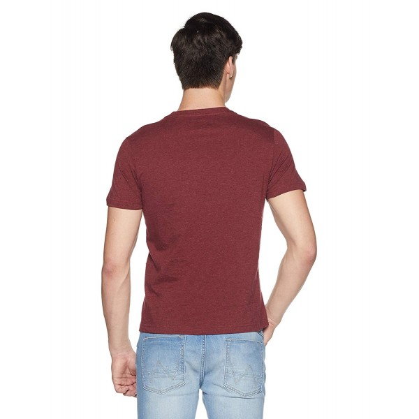 U.S. Polo Assn. Men's Solid Regular Fit T-Shirt_color Red