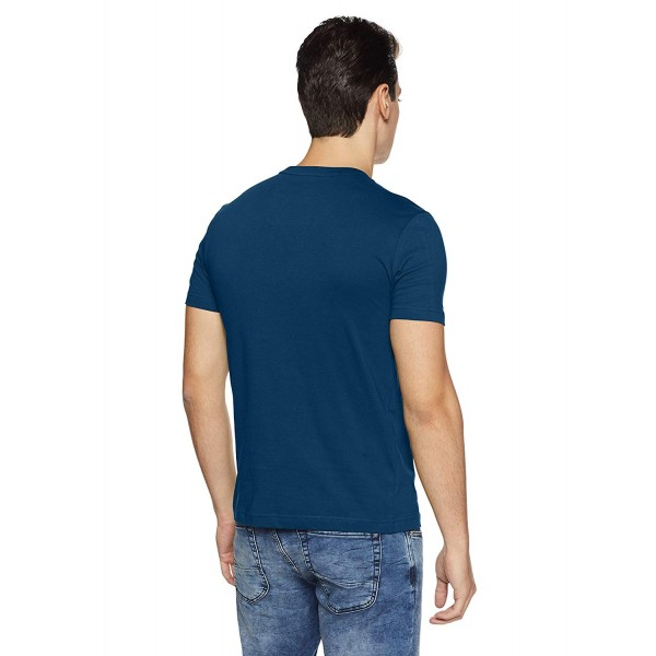 US Polo Assn. Athleisure Men's Solid Regular Fit T-Shirt (I633-195-PL)