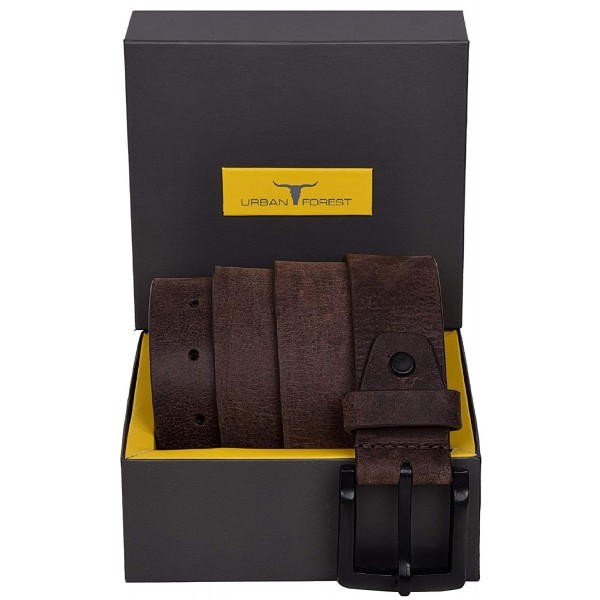 Urban Forest Clark Brown Leather Belt for Men