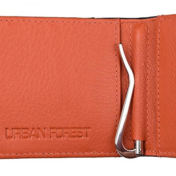 Urban Forest Eddy Money Clip Leather Wallet for Men