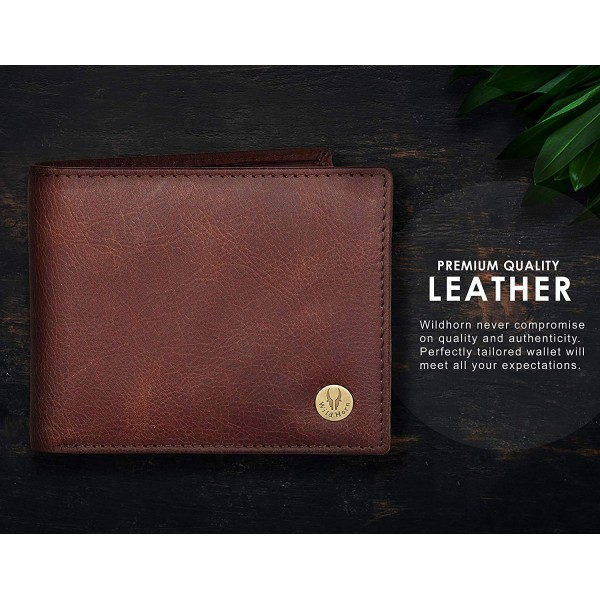 WildHorn Leather Wallet for Men
