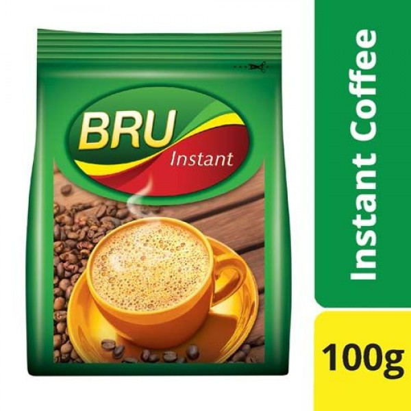 BRU Gold Instant Coffee (Pouch)  100 gm